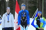 Smithers super sprint biathlete overcomes nerves to take gold