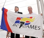 BC Games flag flies in Abbotsford
