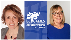 President and Vice President Announced for Greater Vernon 2022 BC Winter Games