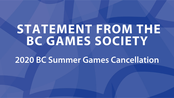BC Games Society Statement