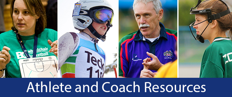 Athlete and Coach Resources